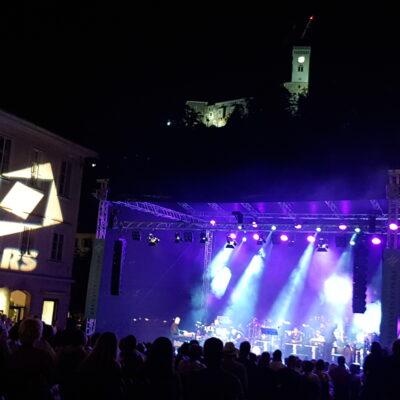 Ozvočenje NEXO Geo S805 line array - Noči v stari Ljubljani