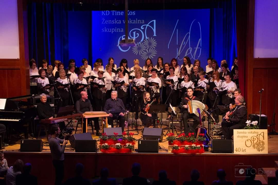 Ozvočenje NEXO koncert 40let pevske skupine ODA
